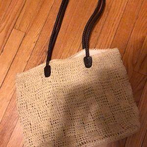 Handbags - STJOHNS BAY wicker type bag